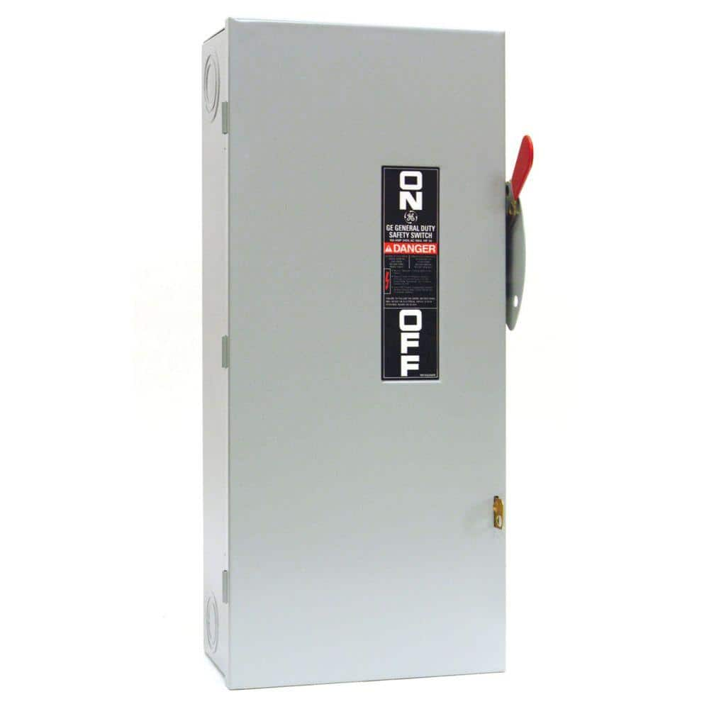 Emergency Power Transfer Switch Outdoor Safety Manual Non-Fused 100 Amp 240 Volt