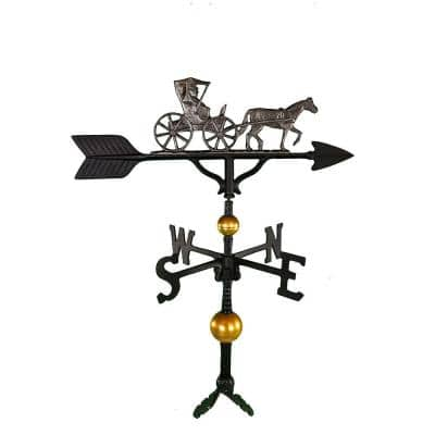 32 in. Deluxe Swedish Iron Country Dr. Weathervane