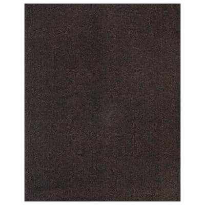 10 ft. L x 7 ft. 2 in. W Garage Floor Mat Brown Polypropylene Protective Carpet Mat