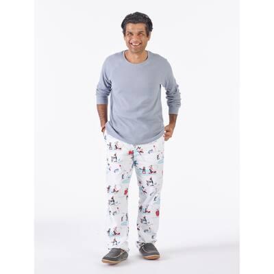 Family Flannel Company Cotton™ Men's Pajama Set in Snowy Fun Friends