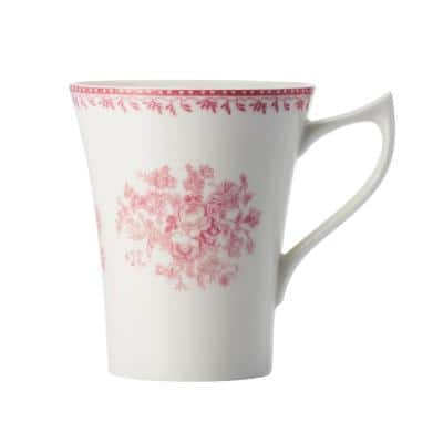 Pink 13 oz. Porcelain Pink Mugs (Set of 36)