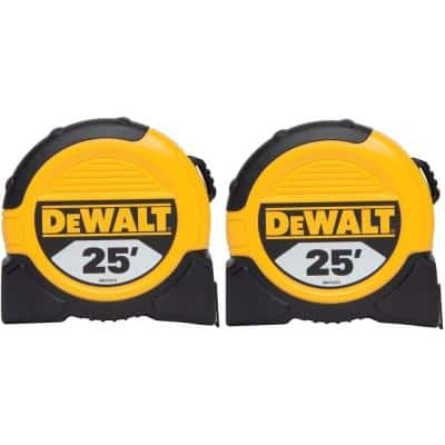 25 ft. Tape Measures (2-Pack)