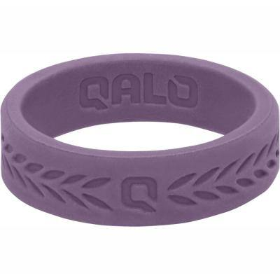 Women's Lilac Laurel Q2X Silicone Wedding Ring