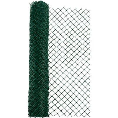 4 ft. x 50 ft. Green Heavy Duty Diamond Link Fence