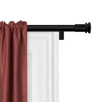Swing Arm Curtain Rods Window Treatments The Home Depot