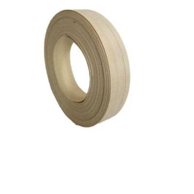 7/8 in. x 25 ft. Poplar Real Wood Edgebanding with Hot Melt Adhesive