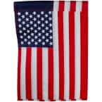 12.5 in. x 18 in. Embroidered American Outdoor Garden Flag
