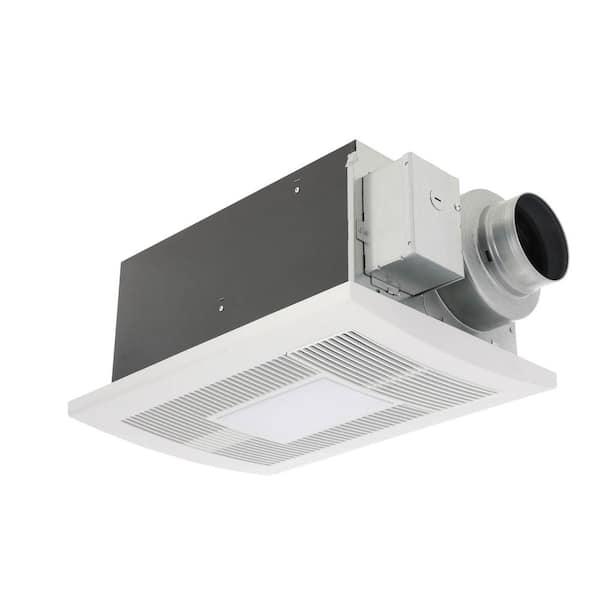 Panasonic Whisperwarm Dc 50 80 110 Cfm, Panasonic Bathroom Exhaust Fan With Light And Heater