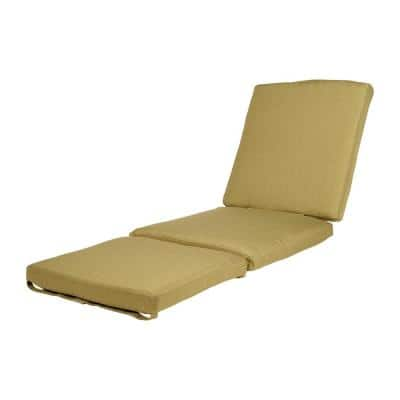Charlottetown Green Bean Outdoor Chaise Lounge Replacement Cushion