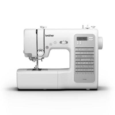 100-Stitch Computerized Quilting and Sewing Machine with Hard Case Cover