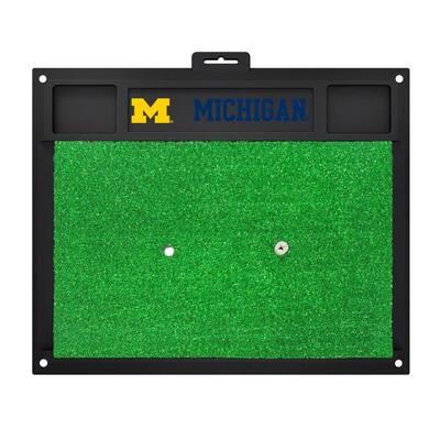 NCAA University of Michigan 17 in. x 20 in. Golf Hitting Mat