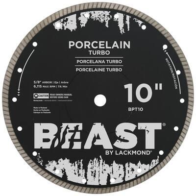 10 in. Porcelain Turbo Wet/Dry Blade