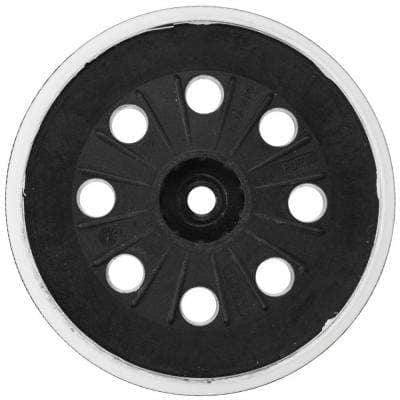5 in. 8-Hole Soft Duro Hook and Loop Sander Backing Pad for ROS65VC Sander