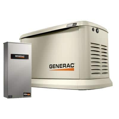 Guardian 24,000-Watt Air-Cooled Standby Generator with WiFi and 200 Amp PWRview Transfer Switch