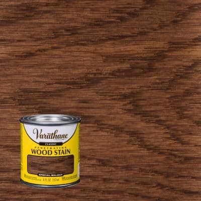 8 oz. Special Walnut Classic Wood Interior Stain (4-Pack)
