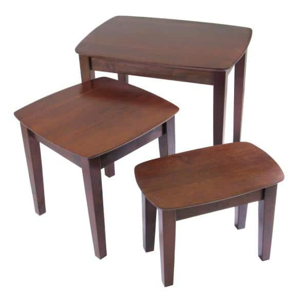 Winsome Bradley 3 Piece Nesting Table Set 94327 The Home Depot