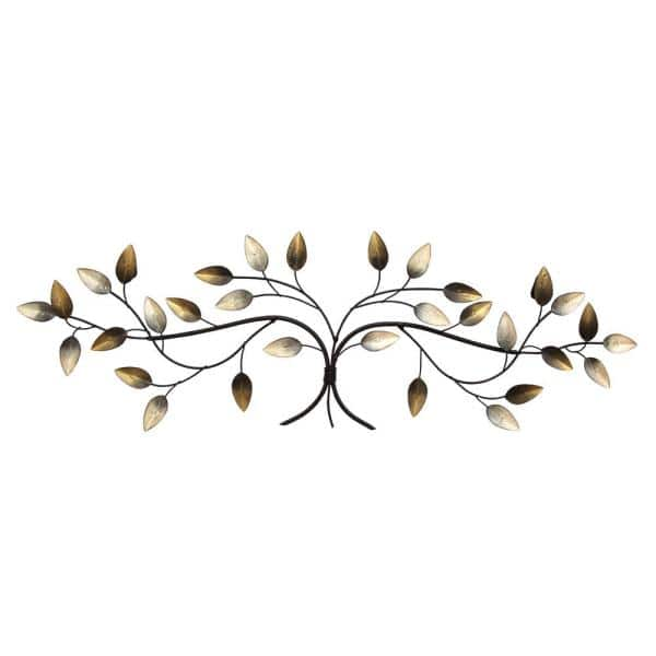 Stratton Home Decor Over The Door Blowing Leaves Wall S01356 Depot