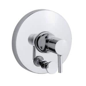 Toobi Rite-Temp 1-Handle Valve Trim Kit with Diverter in Polished Chrome (Valve Not Included)