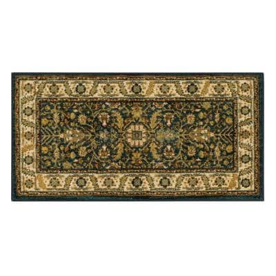 Mariah Sapphire 2 ft. x 4 ft. Scatter Area Rug