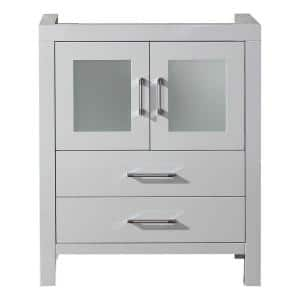 Dior 28 in. W Bath Vanity Cabinet Only in White