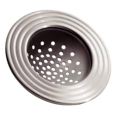 York Sink Strainer in Brushed Stainless Steel