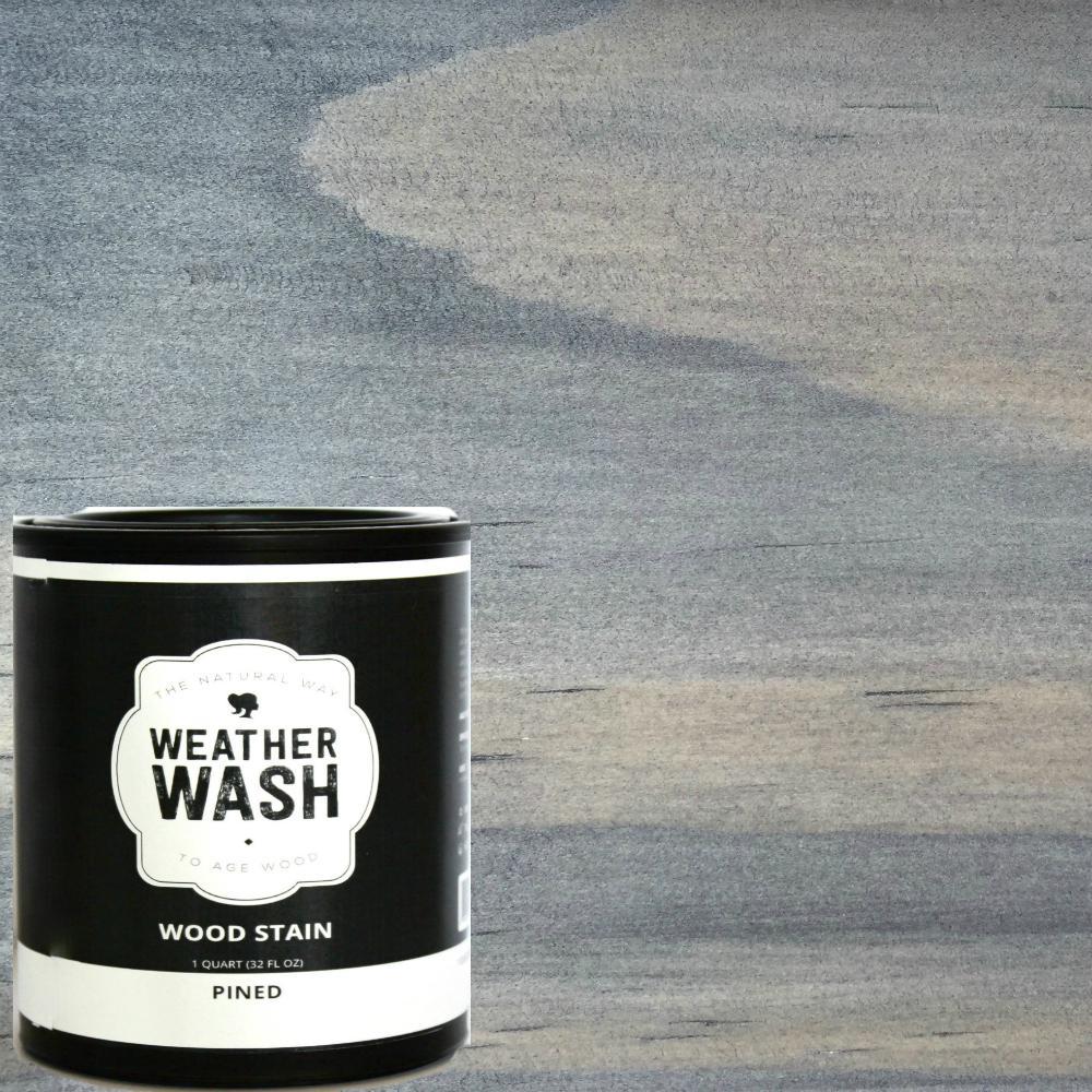 1 gal. Pined Interior/Exterior Weatherwash Aging Stain