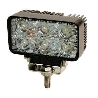 2.5 in. x 4.5 in. Rectangle 6 LED Flood Worklight