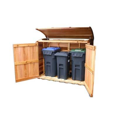 6 ft. x 3 ft. Oscar Waste Management Shed