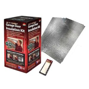 Reflective Air Garage Door Insulation Kit