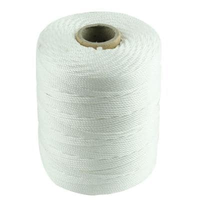 #18 x 1/16 in. x 800 ft. White Twisted Polypropylene Mason Twine