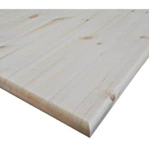 0.71 in. x 24 in. x 48 in. Allwood Pine Project Panel with Routed Edges on 1 Face