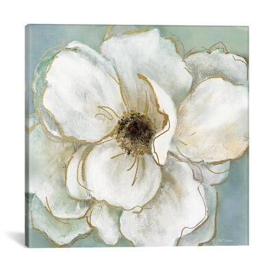 """""""Soft Teal Splendor II"""" by Carol Robinson Canvas Wall Art"""