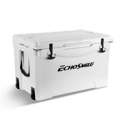 EchoSmile 75 qt. White Rotomolded Cooler