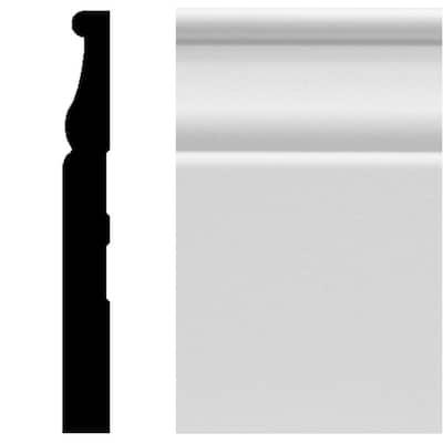 8827 1/2 in. x 4-1/4 in. x 96 in. MDF Primed Colonial Base Moulding
