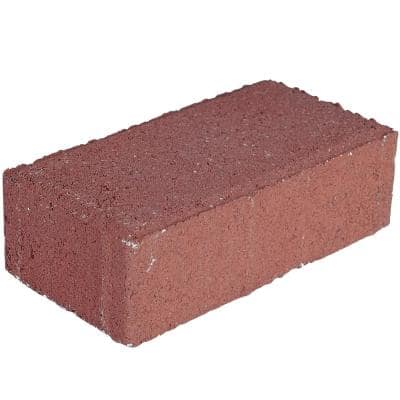 Holland 7.87 in. L x 3.94 in. W x 2.36 in. H 60 mm Red Concrete Paver (480-Piece/103 sq. ft./Pallet)