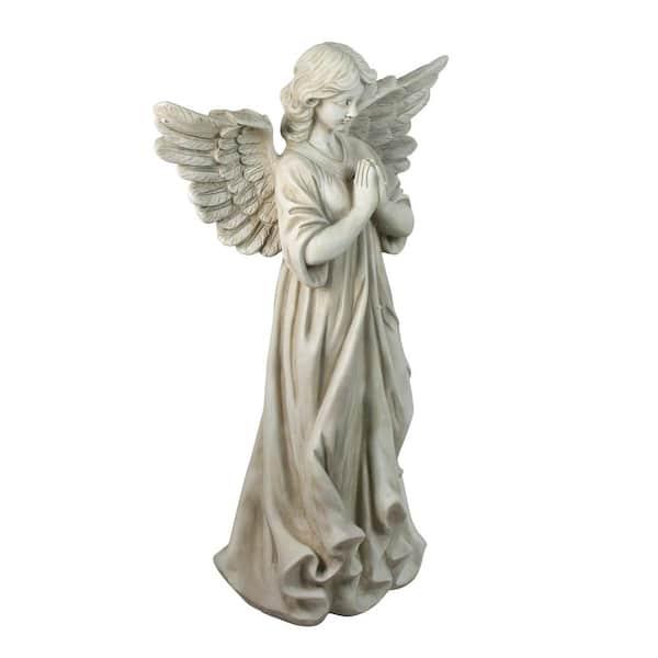 Prayer Outdoor Garden Statue, Angel Outdoor Statues