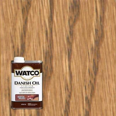 1 pt. Medium Walnut Danish Oil