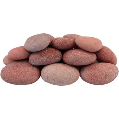 0.4 cu. ft. 1 in. x 3 in. Bahama Pink Beach Pebbles