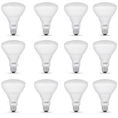 65-Watt Equivalent BR30 Dimmable CEC ENERGY STAR Enhance 90+ CRI Flood LED Light Bulb, Soft White (12-Pack)