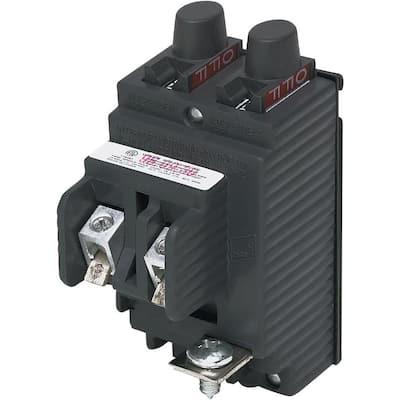 New VPKUBIP 20 Amp/20 Amp 1-1/2 in. 1-Pole Type P Pushmatic Twin Replacement Circuit Breaker