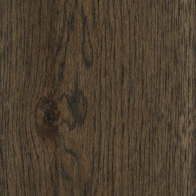 Take Home Sample - Wire Brushed Ashor Hickory Hardwood Flooring - 5 in. x 7 in.