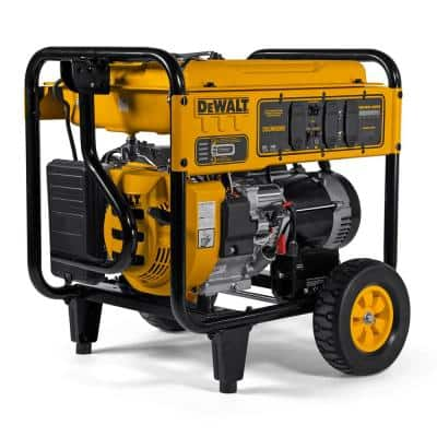 8,000-Watt Gasoline Powered Electric Start Portable Generator with Idle Control, GFCI Outlets and CO Protect