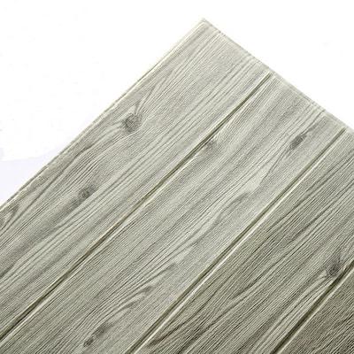 WoodGrain Gray Vinyl Peelable Roll (Covers 108 sq. ft.)