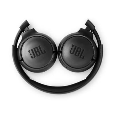 Wireless On-Ear Headphones in Black