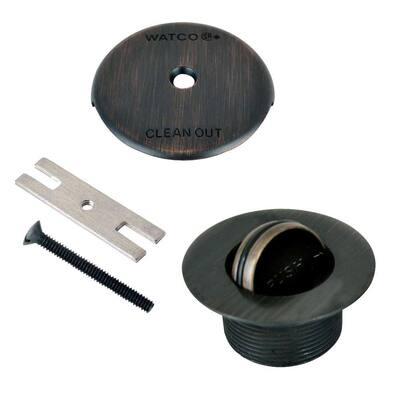 1.865 in. Overall Diameter x 11.5 Threads x 1.25 in. PresFlo Trim Kit, Oil-Rubbed Bronze
