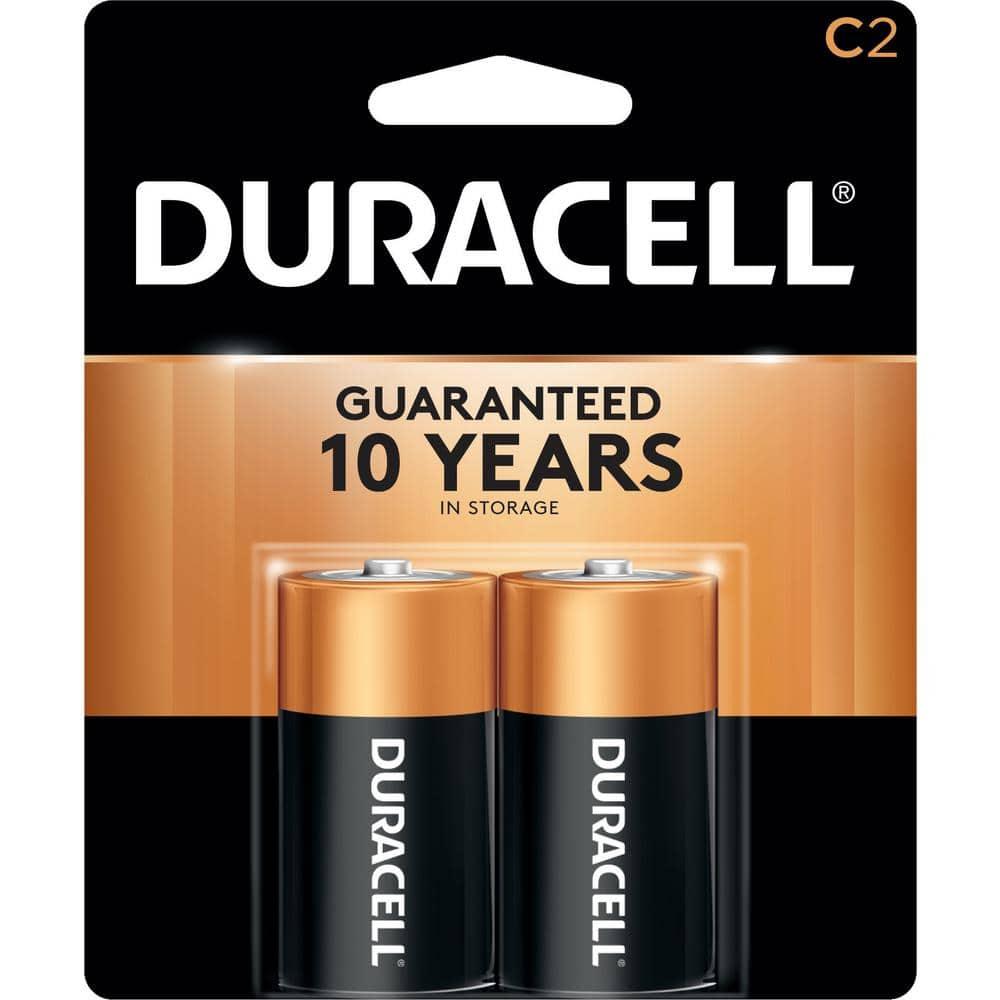 Duracell Coppertop C Alkaline Battery (2-Pack)