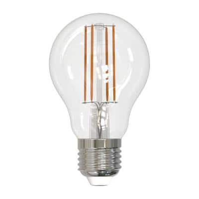 60-Watt Equivalent Dimmable A19 Vintage Edison LED Light Bulb with Medium (E26) Base, 2700K, (2-Pack)