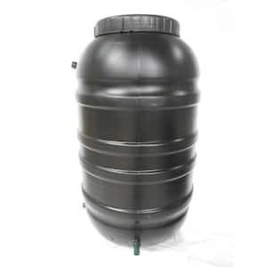 55 Gal. Black Rain Barrel
