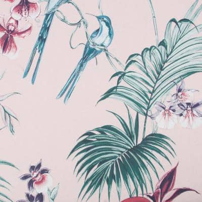 Utopia Pink Strippable Removable Wallpaper