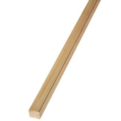 2 in. x 2 in. x 12 ft. Rough Green Western Red Cedar Lumber